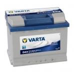 Akumuliatorius VARTA D43 60Ah 540A