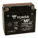 Akumuliatorius YUASA 12V 18Ah 270A YTX20-BS