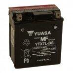 Akumuliatorius YUASA 12V 6Ah 100A YTX7L-BS