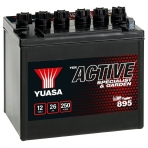Akumuliatorius YUASA GARDEN 12V 26Ah 250A 895