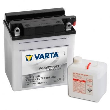 Akumuliatorius VARTA 12V 11Ah 150A Freshpack YB10L-B