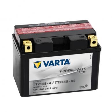 Akumuliatorius VARTA 12V 11Ah 230A AGM TTZ14S-BS
