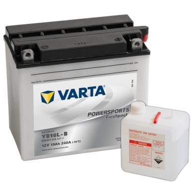 Akumuliatorius VARTA 12V 19Ah 240A Freshpack YB16L-B