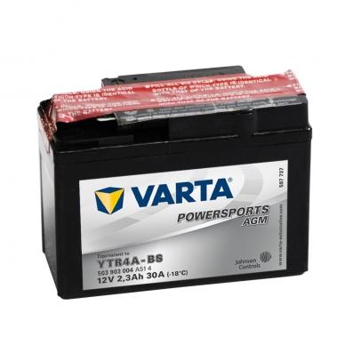 Akumuliatorius VARTA 12V 2.3Ah 30A AGM YTR4A-BS