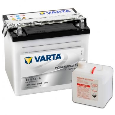 Akumuliatorius VARTA 12V 24Ah 200A Freshpack 12N24-4
