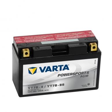 Akumuliatorius VARTA 12V 7Ah 120A AGM YT7B-BS