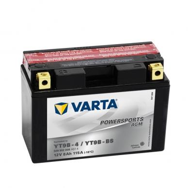 Akumuliatorius VARTA 12V 8Ah 115A AGM YT9B-BS