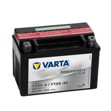 Akumuliatorius VARTA 12V 8Ah 135A AGM YTX9-BS