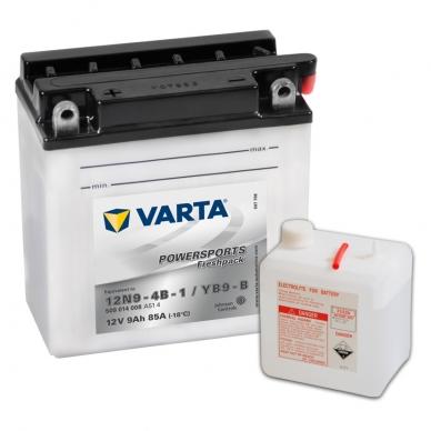 Akumuliatorius VARTA 12V 9Ah 85A Freshpack YB9-B