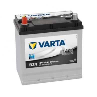 Akumuliatorius VARTA B24 45Ah 300A