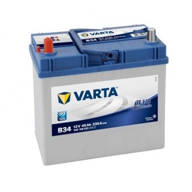 Akumuliatorius VARTA B24 45Ah 330A