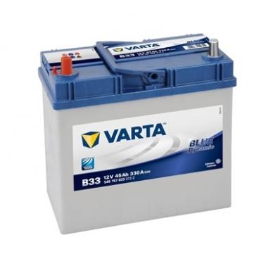 Akumuliatorius VARTA B33 45Ah 330A