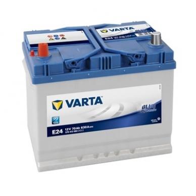 Akumuliatorius VARTA E24 70Ah 630A