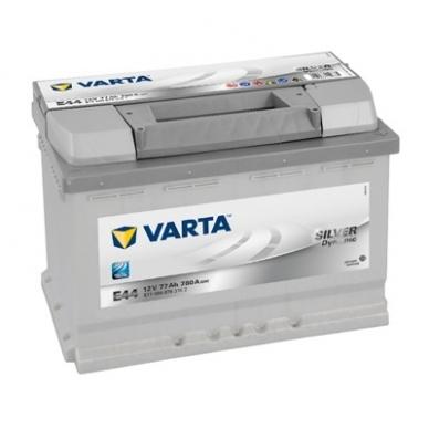 Akumuliatorius VARTA E44 77Ah 780A