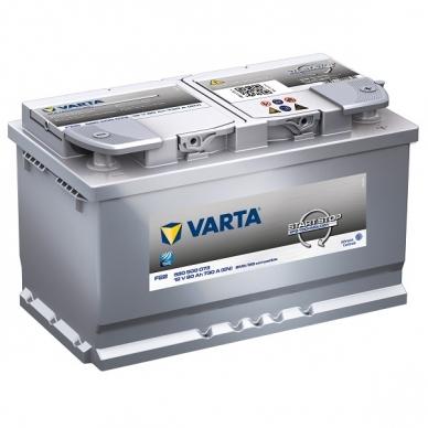 Akumuliatorius VARTA F22 80Ah 730A Start-Stop EFB