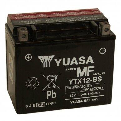 Akumuliatorius YUASA 12V 10Ah 180A YTX12-BS