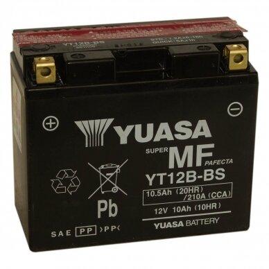 Akumuliatorius YUASA 12V 10Ah 215A YT12B-BS