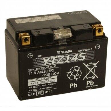 Akumuliatorius YUASA 12V 11.2Ah 230A YTZ14S