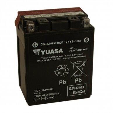 Akumuliatorius YUASA 12V 12Ah 210A YTX14AH-BS