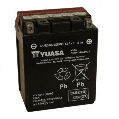 Akumuliatorius YUASA 12V 12Ah 210A YTX14AHL-BS