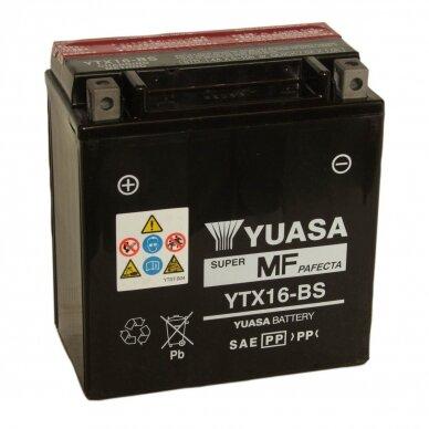 Akumuliatorius YUASA 12V 14Ah 230A YTX16-BS