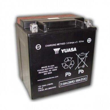 Akumuliatorius YUASA 12V 30Ah 385A YIX30L-BS