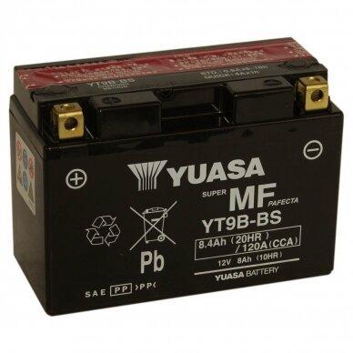 Akumuliatorius YUASA 12V 8Ah 115A YT9B-BS