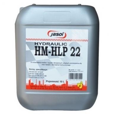 Alyva hidraulinė JASOL HYDRAULIC HM/HLP22 10L