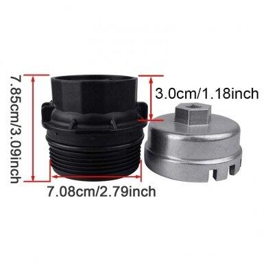 Alyvos filtro raktas 64.5mm 14 kampų TOYOTA 5