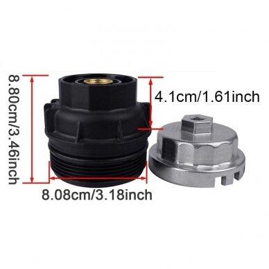 Alyvos filtro raktas 64.5mm 14 kampų TOYOTA LEXUS 5