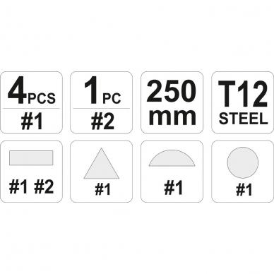 Dildės metalui rinkinys 2