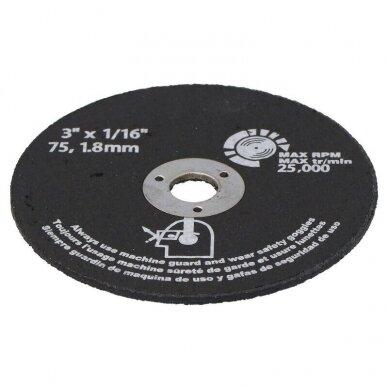 Diskas pjovimo 75x1.8mm