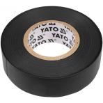 Elektros izoliacinė juosta juoda 19mmx20mx0.13mm