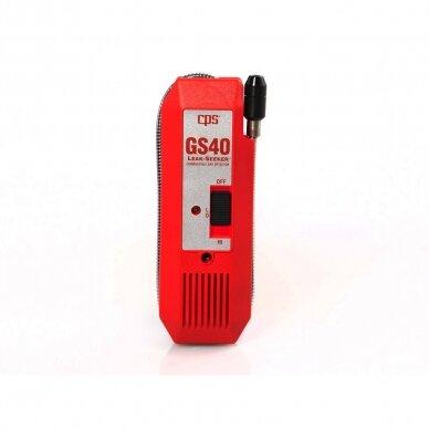 Elektroninis degiųjų dujų nuotėkio detektorius