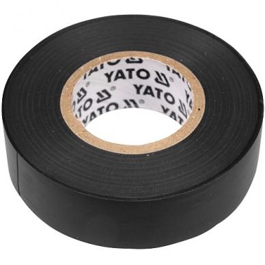 Elektros izoliacinė juosta juoda 15mmx20mx0.13mm