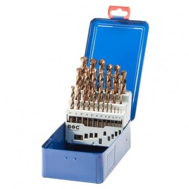 Grąžtų metalui rinkinys DIN338 25vnt.