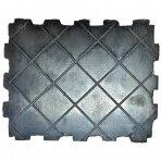 Guminis padas keltuvui 160x130x35mm stačiakampis