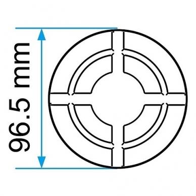 Guminis padas domkratui 96.5x23mm 3