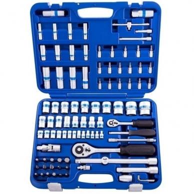 Įvairių įrankių rinkinys 94 dalių