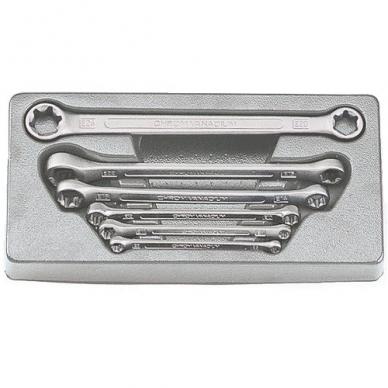 Kilpinių raktų rinkinys E-tipo 6 dalių