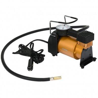 Kompresorius oro mini automobilinis padangų 12V 120W 35L/min