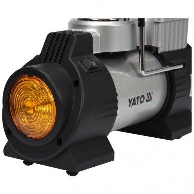 Kompresorius oro mini automobilinis padangų 12V 180W 40L/min 3