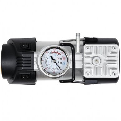 Kompresorius oro mini automobilinis padangų 12V 180W 40L/min 4