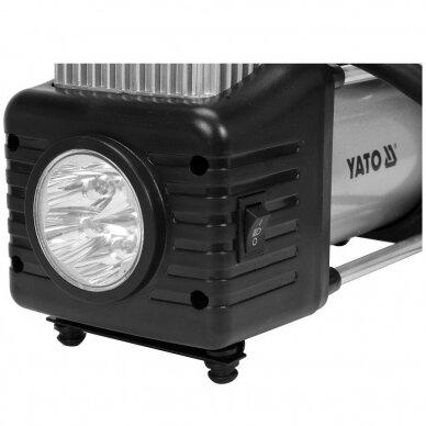 Kompresorius oro mini automobilinis padangų 12V 250W 60L/min 3