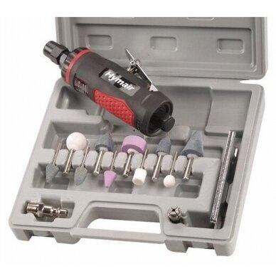 Pneumatinis tiesinis šlifuoklis 3mm/6mm rinkinys