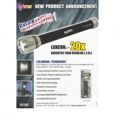 Prožektorius 1w Luxeon 2