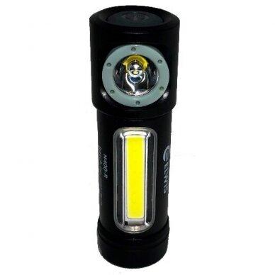 Prožektorius ant galvos 4.5W LED XT-E 3