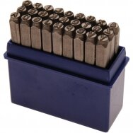 Raidžių žymeklių iškalėjų rinkinys 8mm