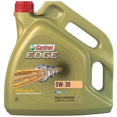 Sintetinė variklinė alyva Castrol 0W30 4L EDGE