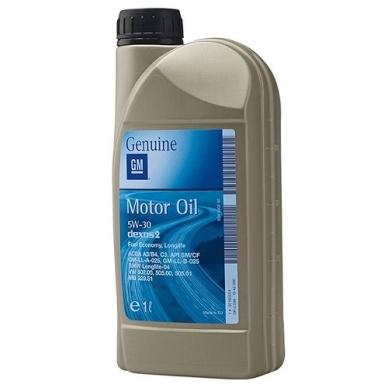 Sintetinė variklinė alyva GM 5W30 1L dexos2